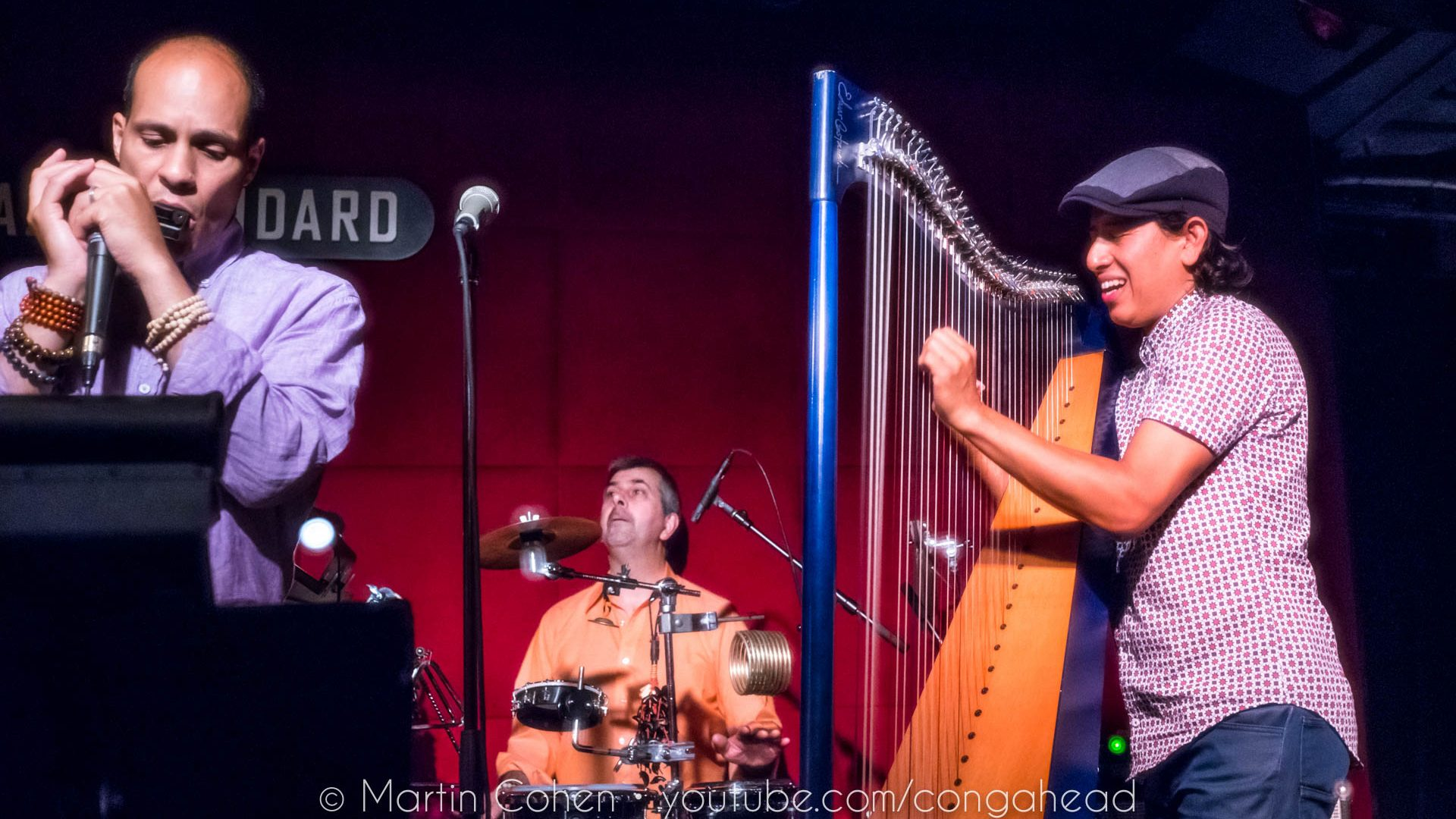 Edmar Castañeda at Jazz Standard