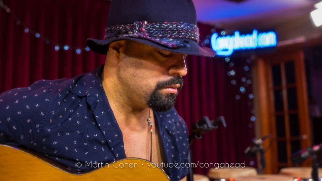 Gilmar Gomes at Congahead Studio