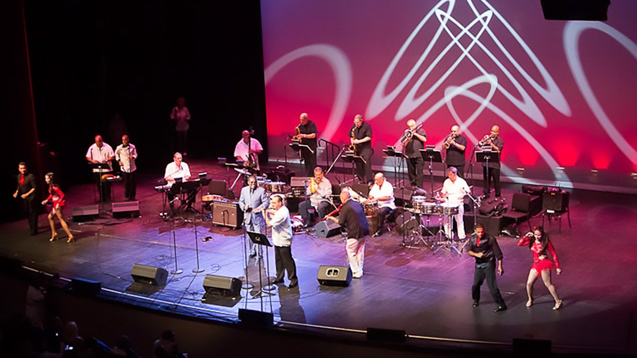 Michel Camilo and Tipica '73 at Lehman College.  September 15, 2012