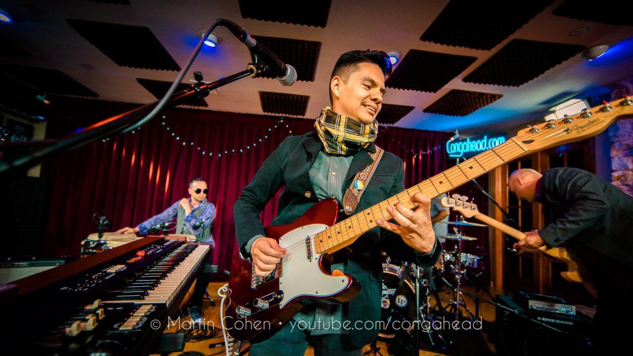 Dos Santos brings its psychedelic cumbia to Congahead Studios