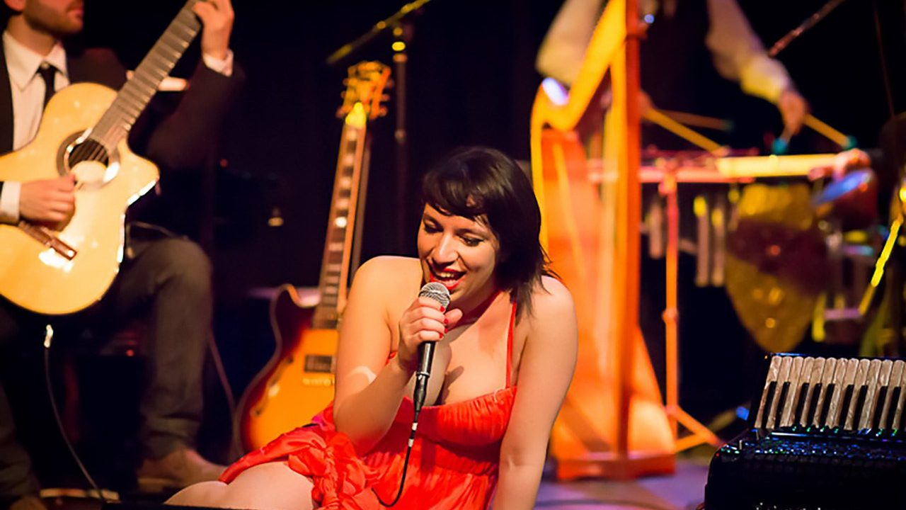 Banda Magda and Women Of The World at Drom, NYC.  April 7, 2012