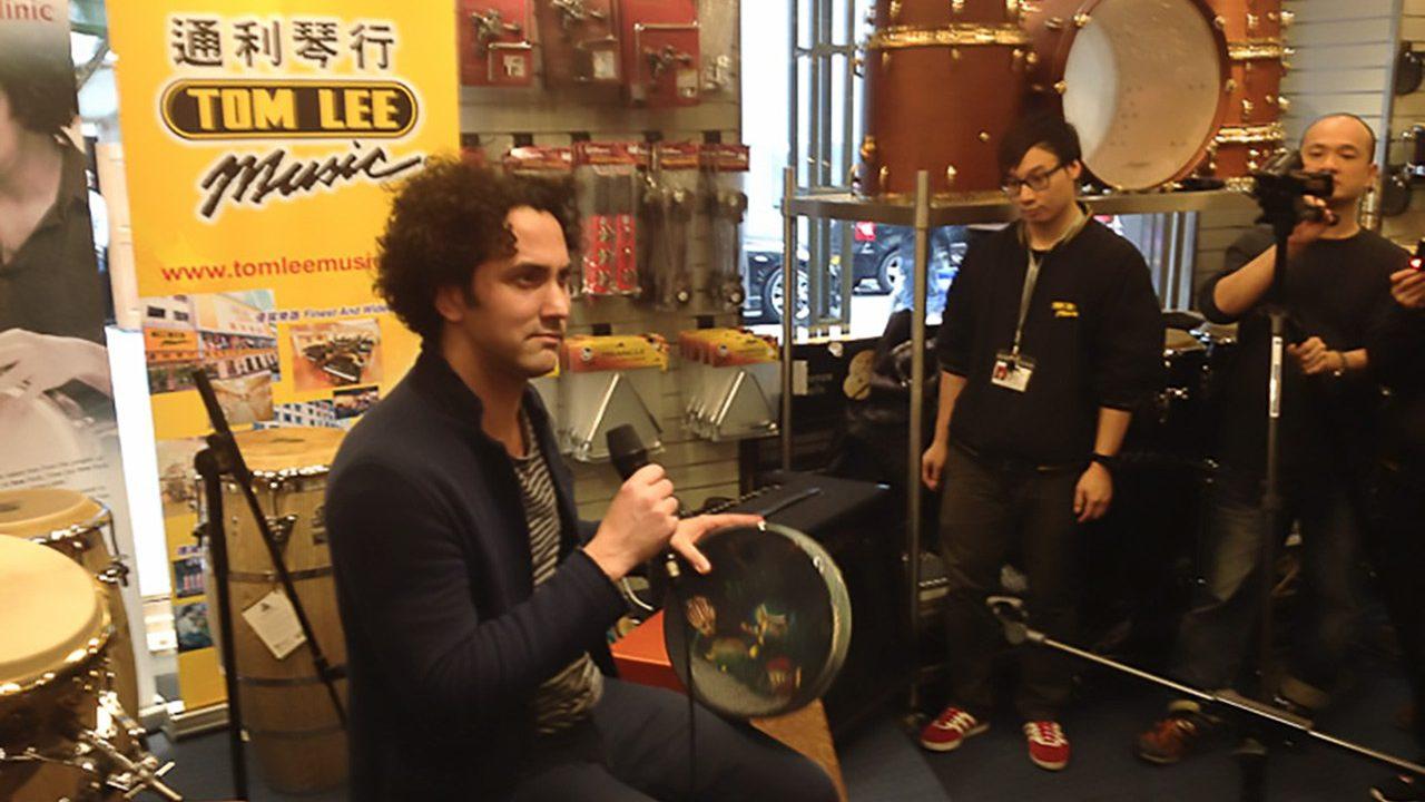 John Hadfield clinic at Tom Lee Music.  February 18, 2012