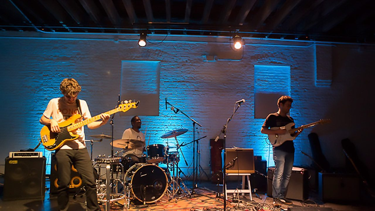 Snarky Puppy Guitarists at ShapeShifter Lab.  August 14, 2012