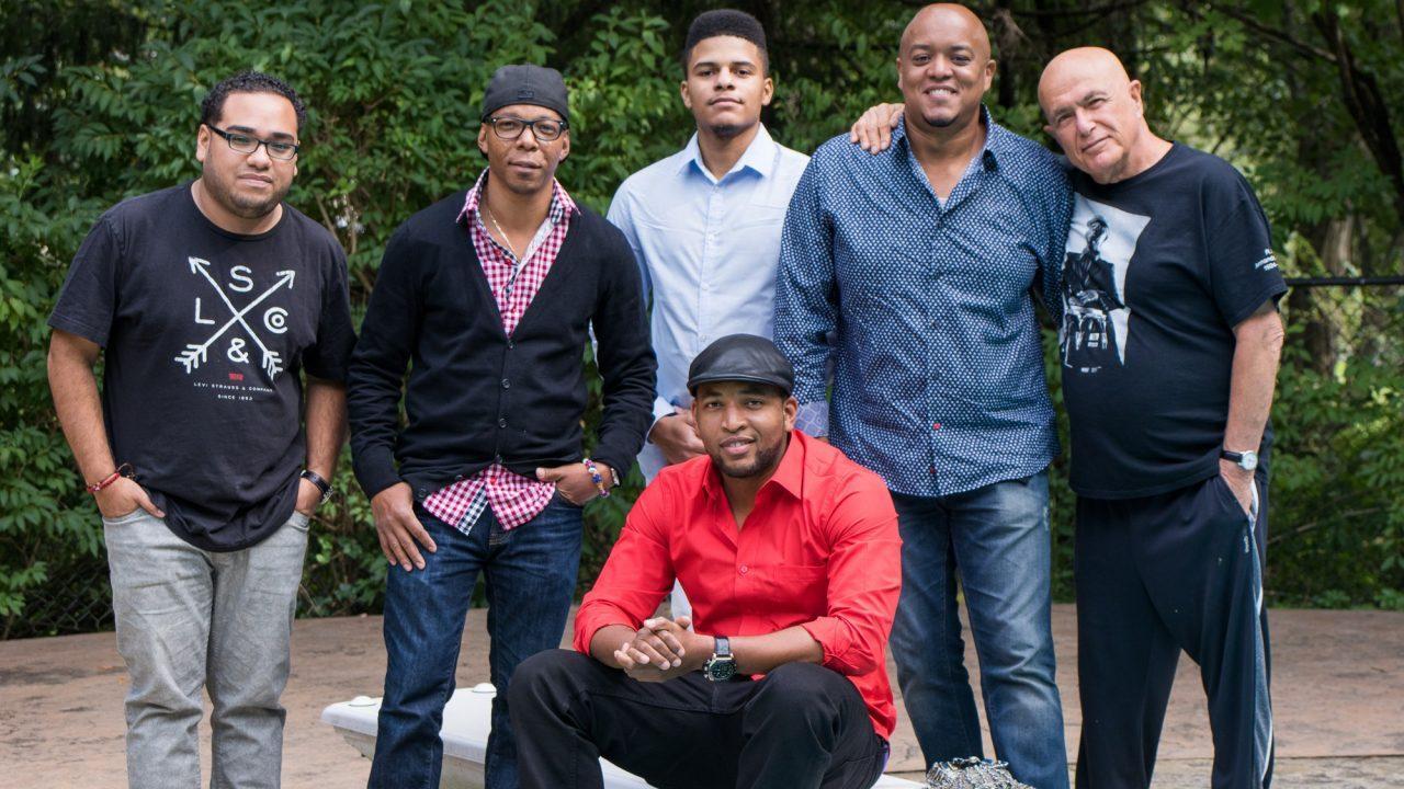 Eliel Lazo, Marvin Diz, Rubby Guzman & Miguel Vargas perform at Congahead Studio