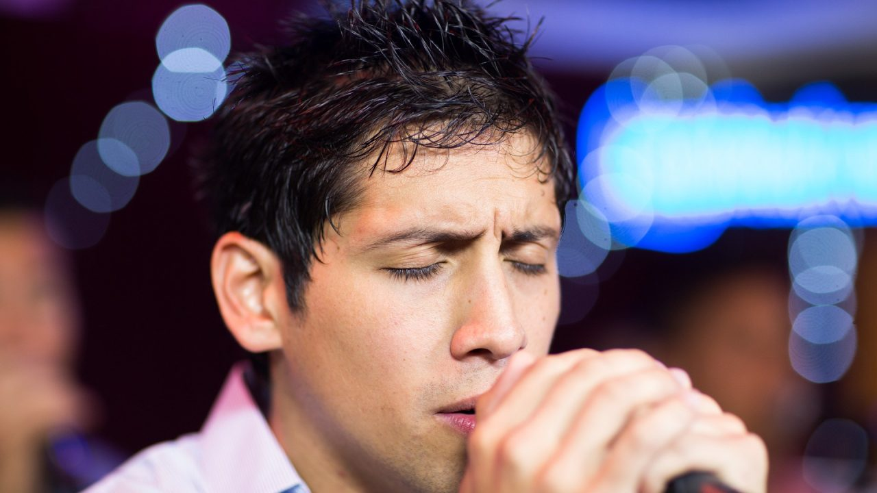 Marc Quiñones & Bobby Allende present Pablo Alarcón to perform at Congahead Studio