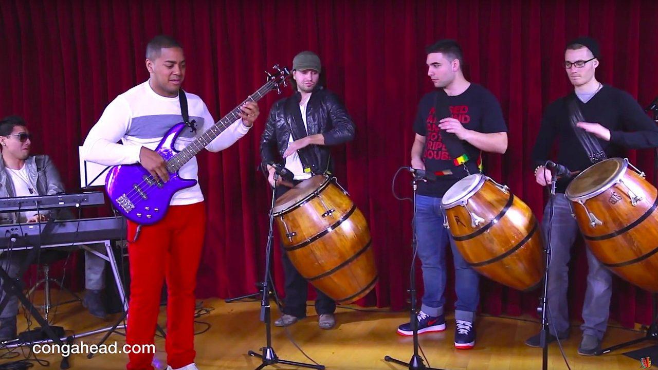 Candombe Jazz led by Sebastian Natal.  March 10, 2013