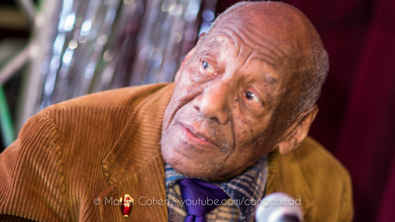 Candido, Almost 94, Performs at Martin's 76th Birthday Party