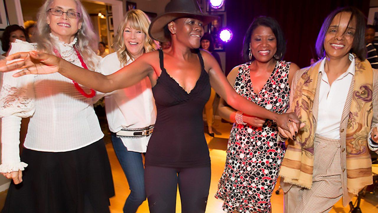 Vivianne Cohen's birthday party.  September 29, 2012
