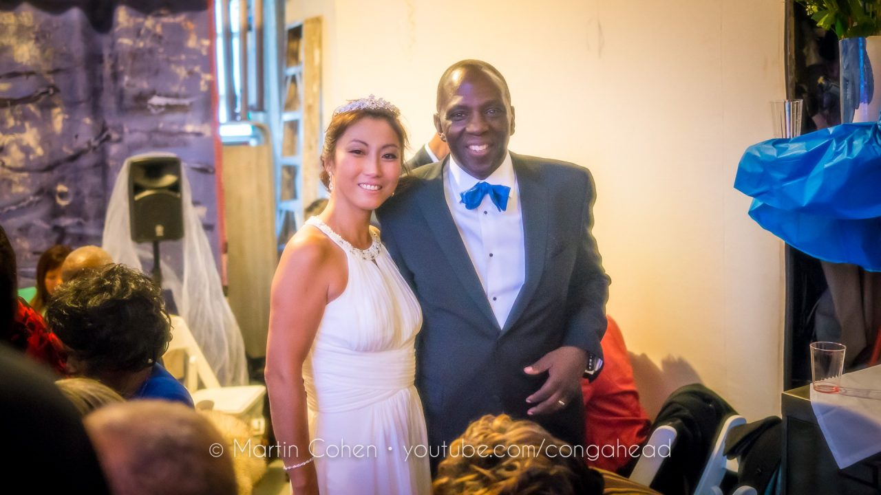 Sam Elijah and Miho Nobuzane's wedding.  November 20, 2016.