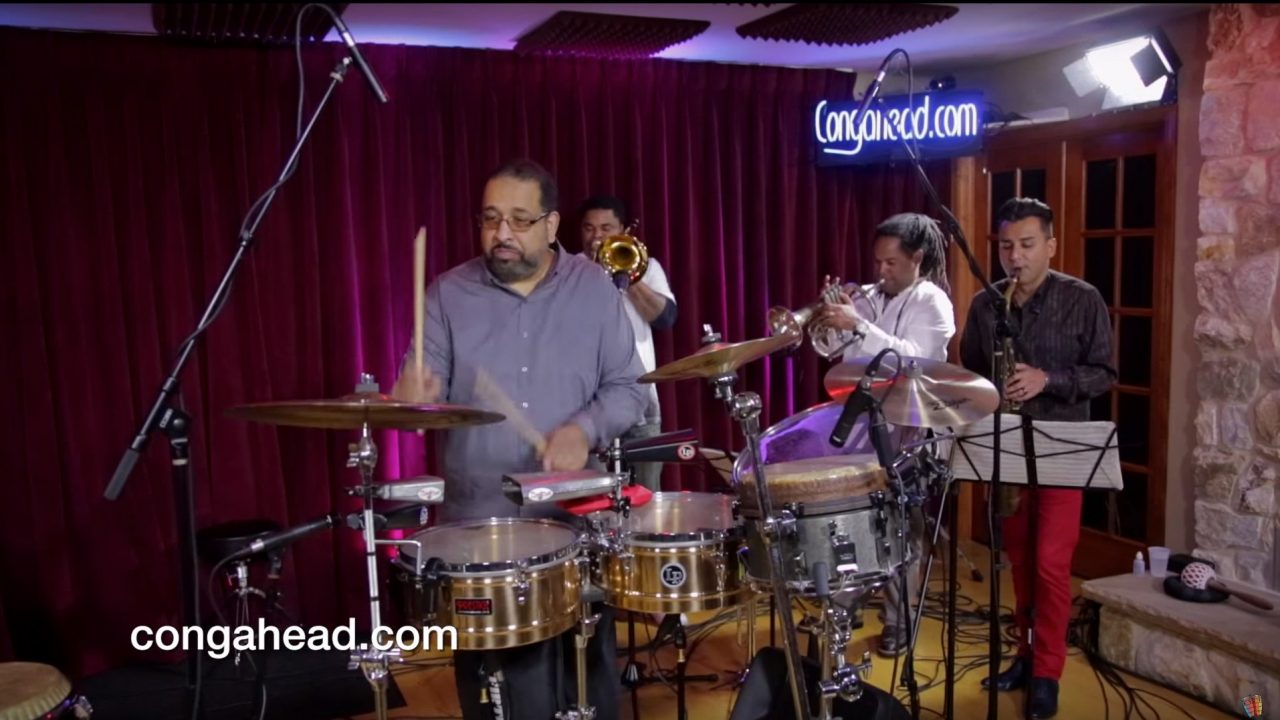 Ralph Irizarry and Timbalaye Perform at Congahead Studio