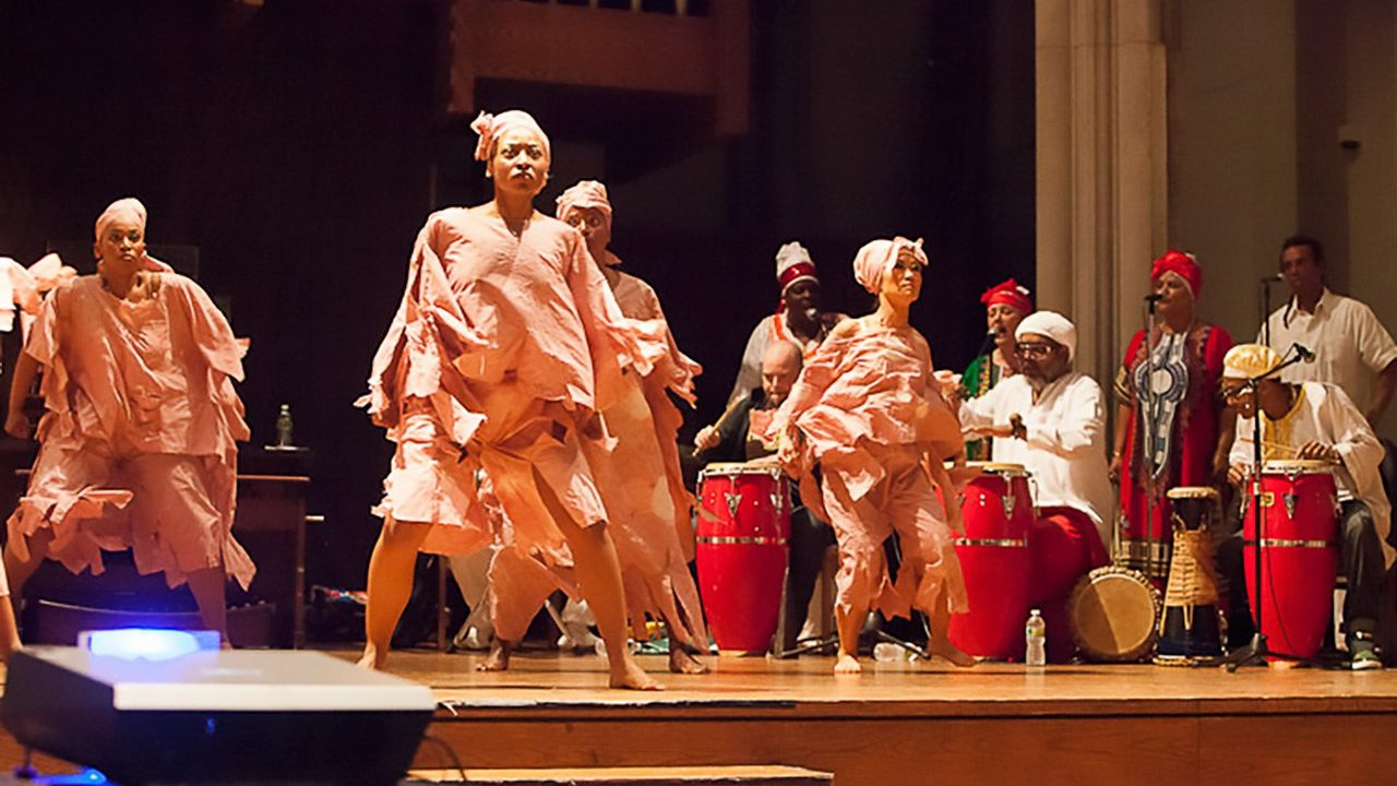 Felipe Luciano presents Afro Cuban rhythms at the Union Theological Seminary, NYC