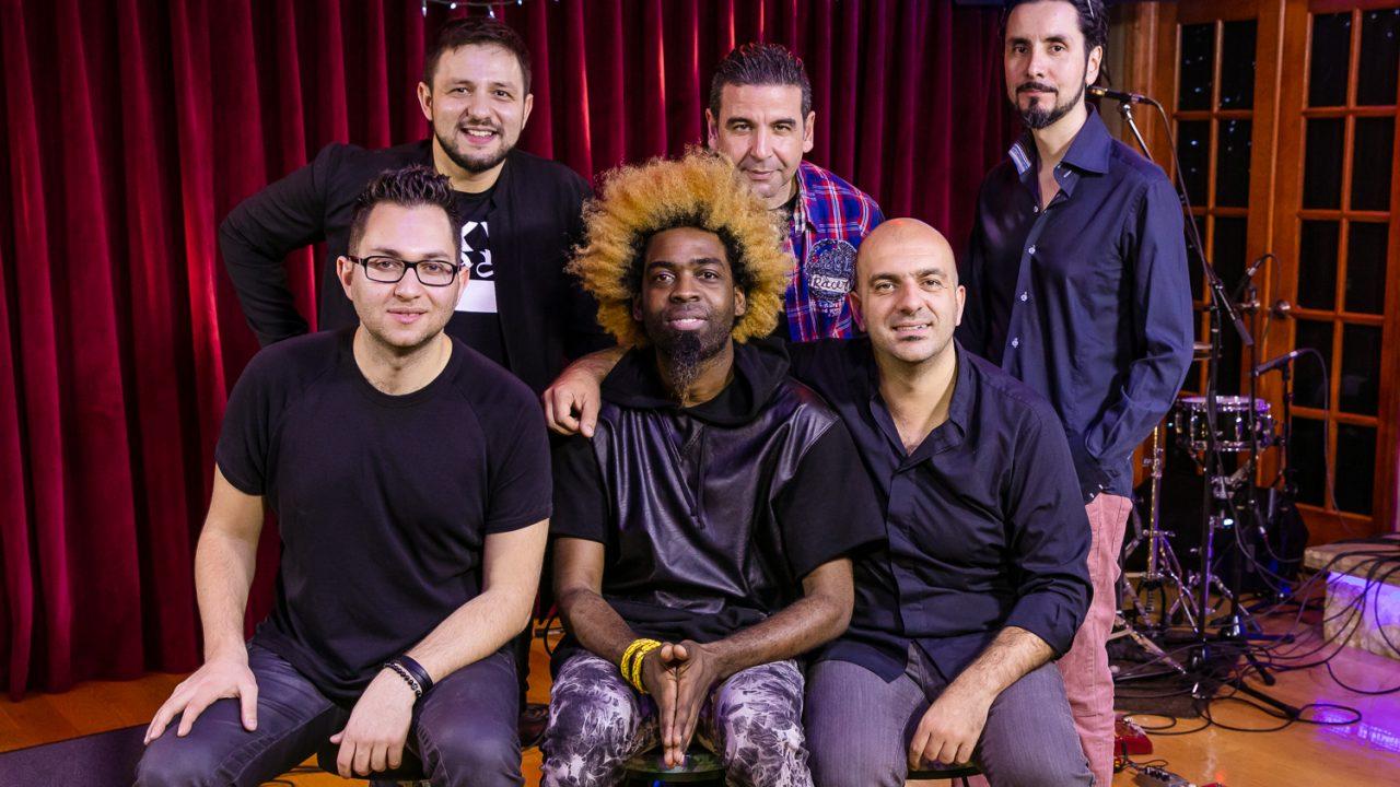New York Gypsy All Stars perform at Congahead Studios