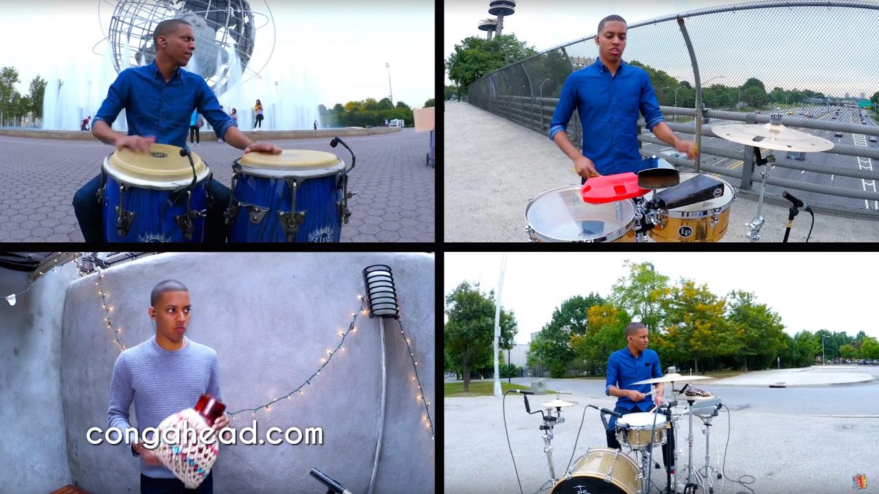'Round The Town Percussion Feat. Marcos Lopez