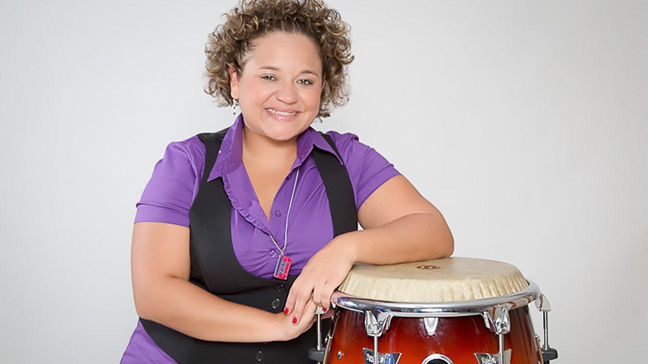 Martha Paredes percussion solo