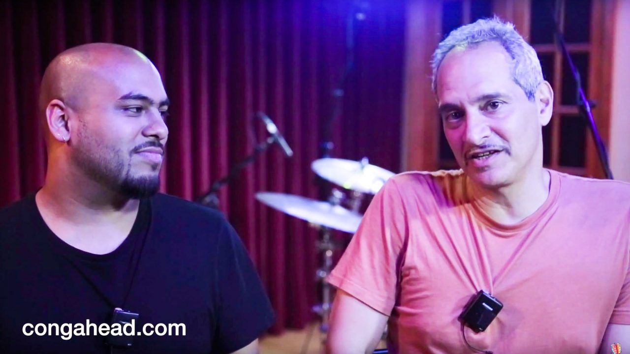 Robby Ameen and Troy Roberts Duo Lingo video session