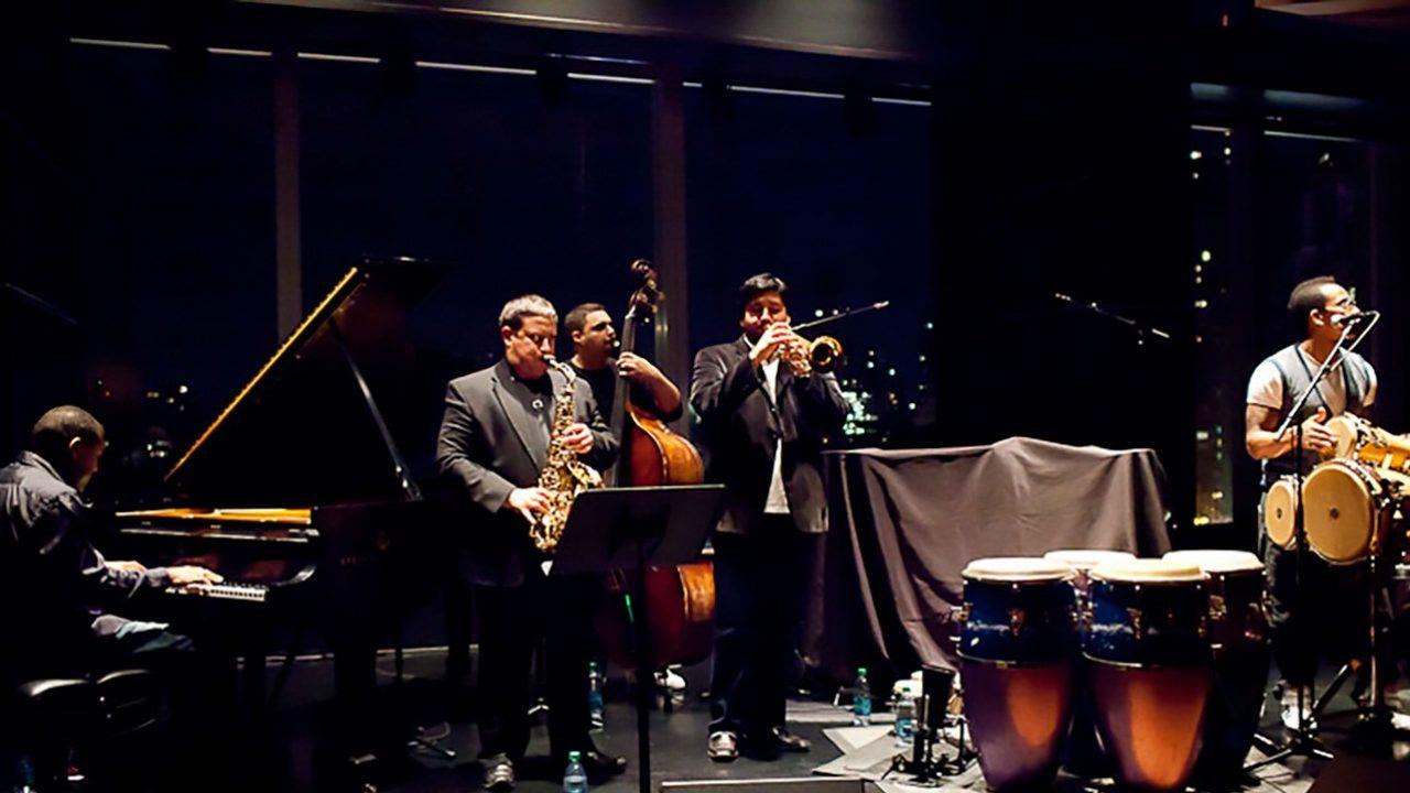Ali Jackson and Pedro Pedrito Martínez at Dizzy's Club Coca Cola.  October 20, 2011