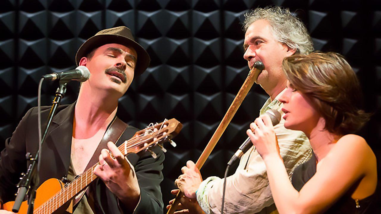 Irene and Frances Jacob at Joe's Pub.  May 3, 2012