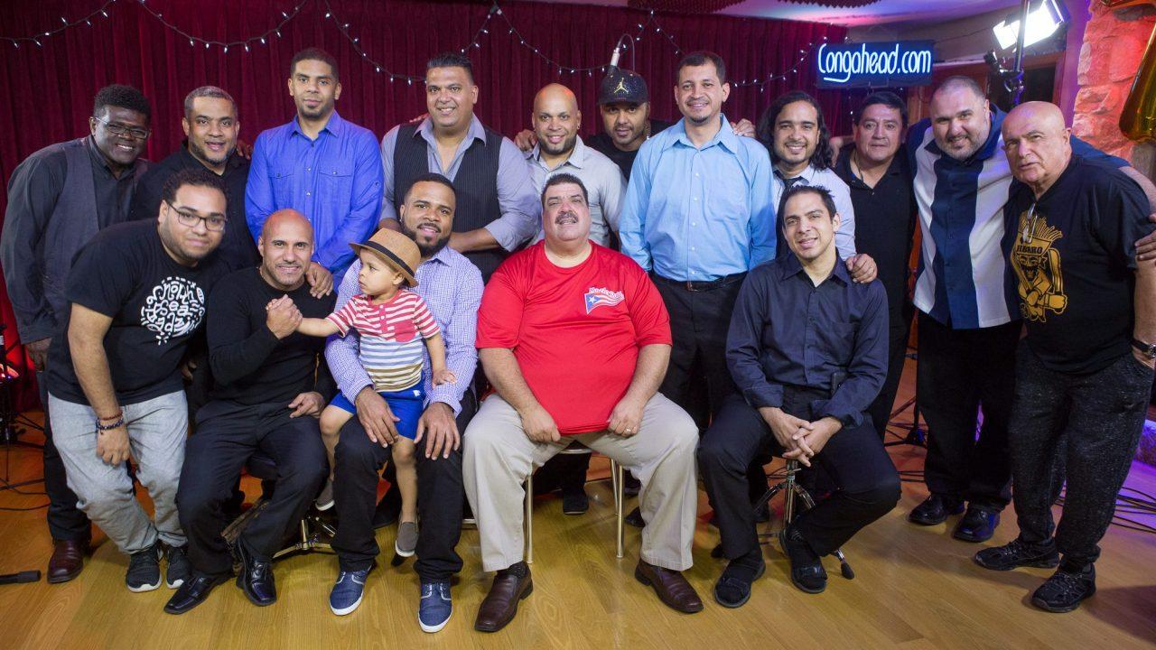 Maelo Ruiz with Carlitos Padron Y Rumberos Del Callejon perform at Congahead Studio