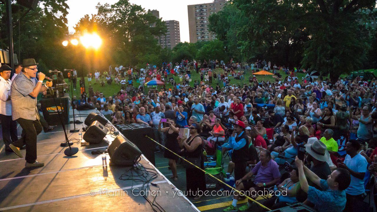 Johnny Rivera at St. Mary's Park.  Bronx, NY