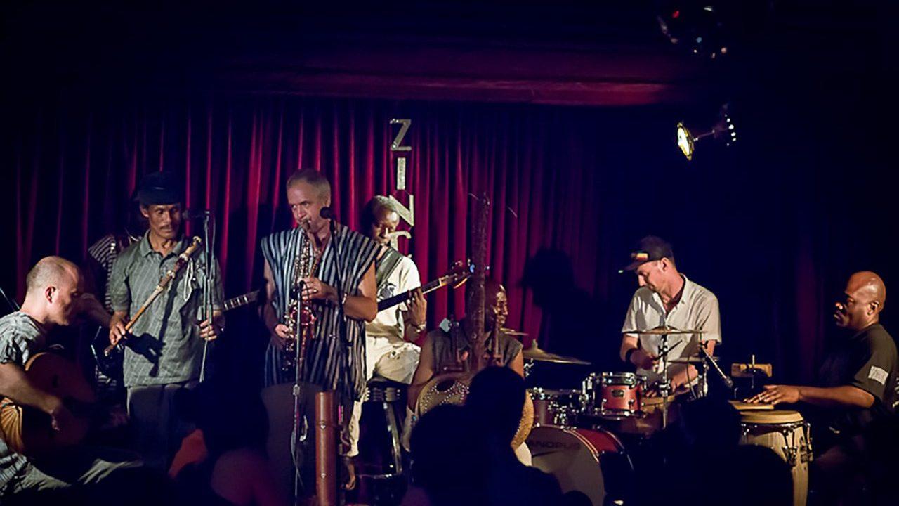 Sylvian Leroux at Zinc Bar.  August 3, 2012
