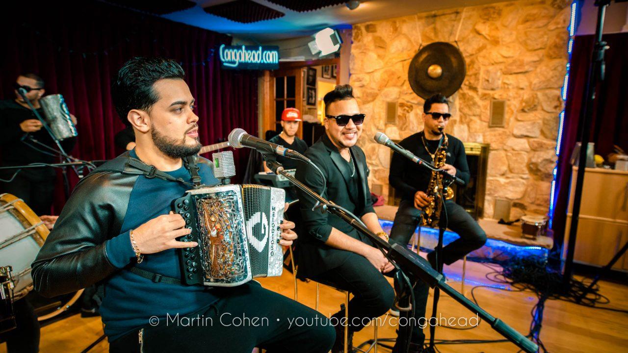 Tipico Urbano performs at Congahead Studios