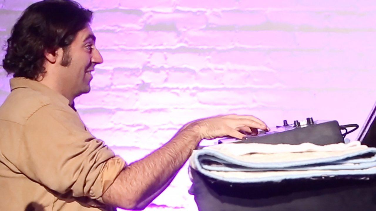 Filtron M, a group led by Manu Koch performs at ShapeShifter Lab.  November 5, 2012
