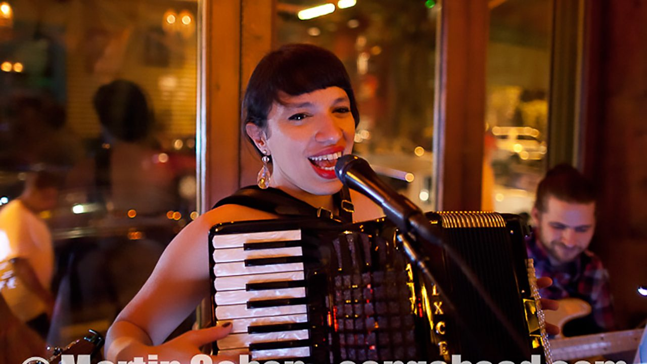 Banda Magda at Esperanto, NYC.  August 18, 2011