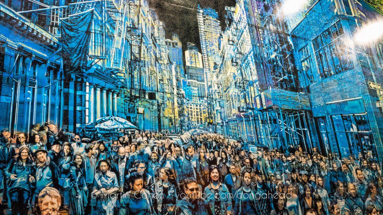 Logan Hicks's Spectacular Bowery Mural