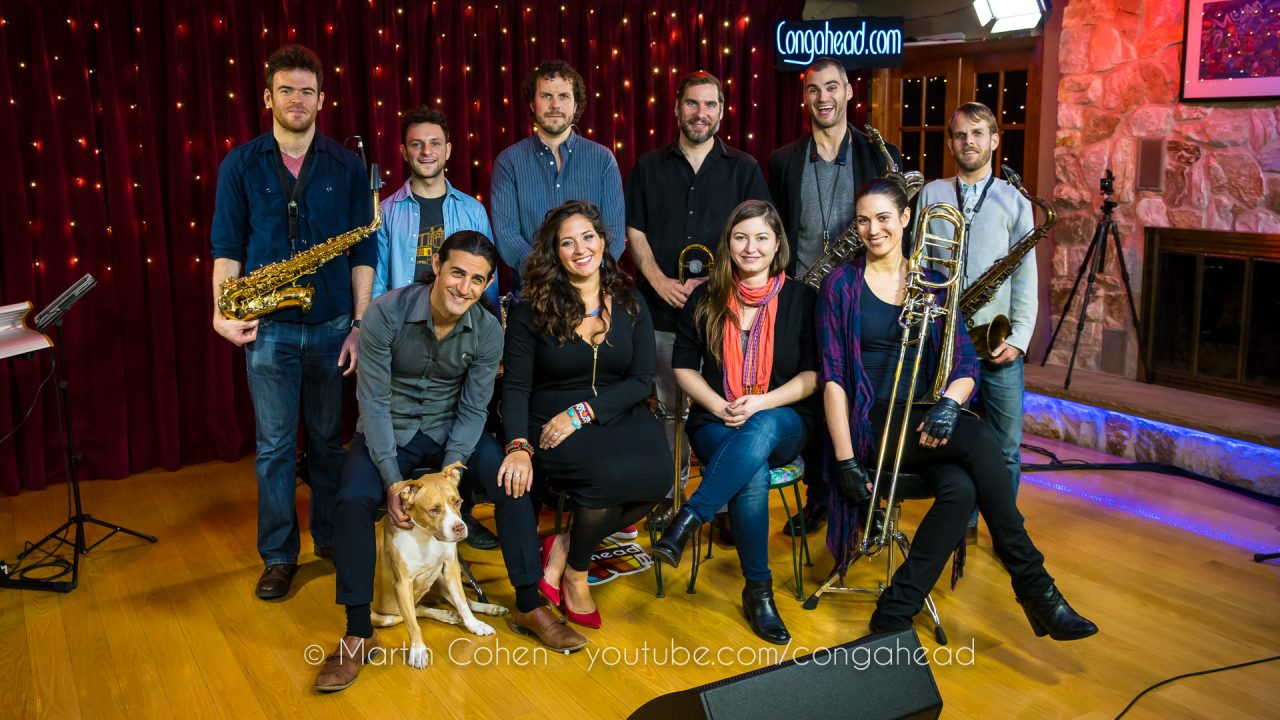 Dan Pugach Nonet feat. Nicole Zaraitis on vocal