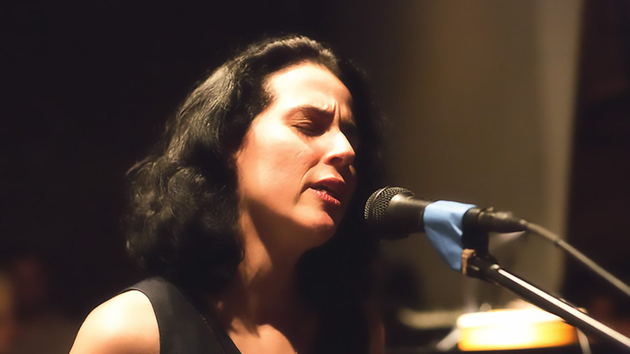 Clarice Asssad at The Stone.  May 20, 2012