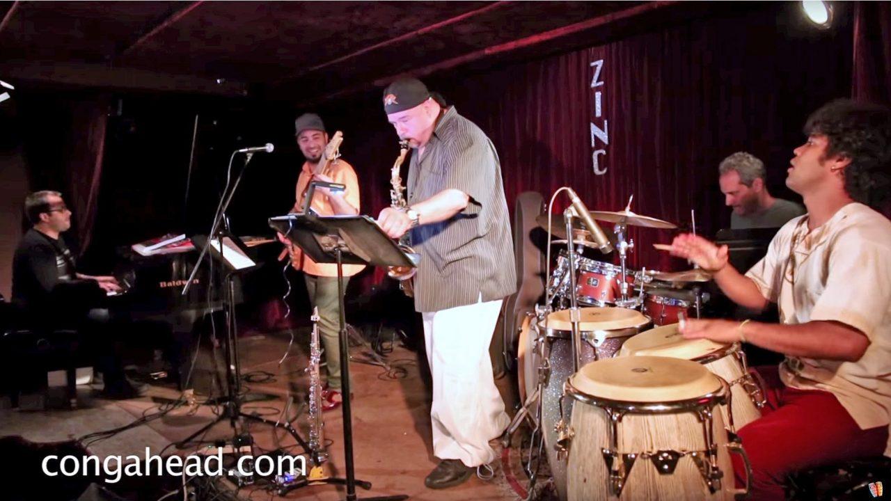 Alain Pérez Quintet at the Zinc Bar.  NYC