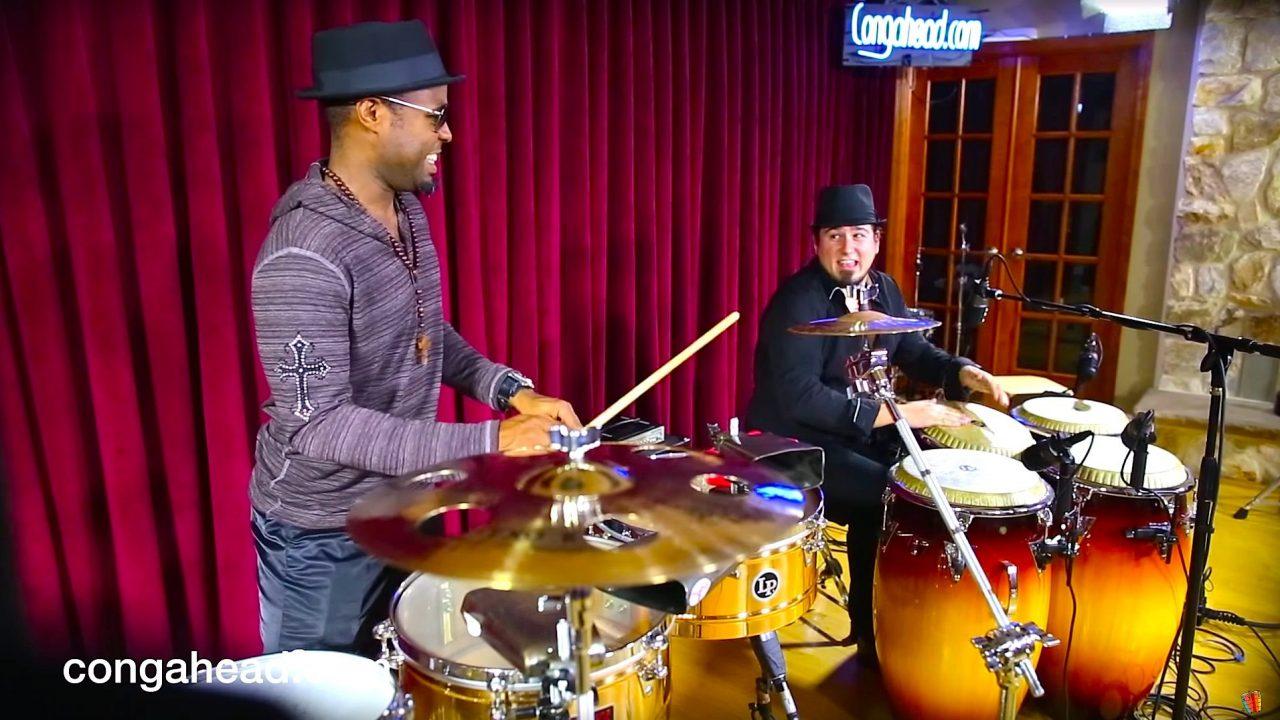 Tony Moreau Charon and José Montaña percussion duo.  March 17, 2013