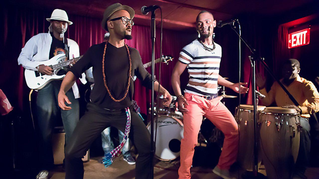 Isaac Katalay.  The Life Long Project soukous band at the Zinc Bar.  August 24, 2012