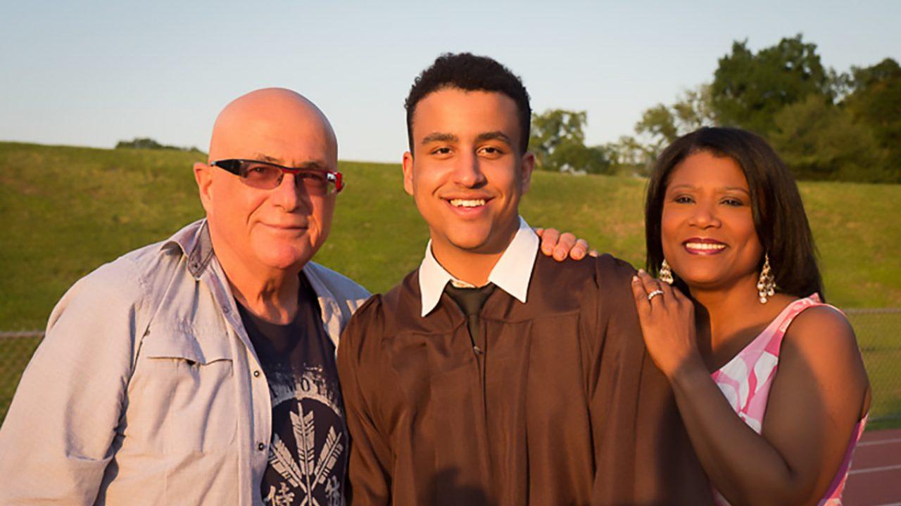 Matthew's Graduation from Pascack Hills High School.  June 20, 2013.