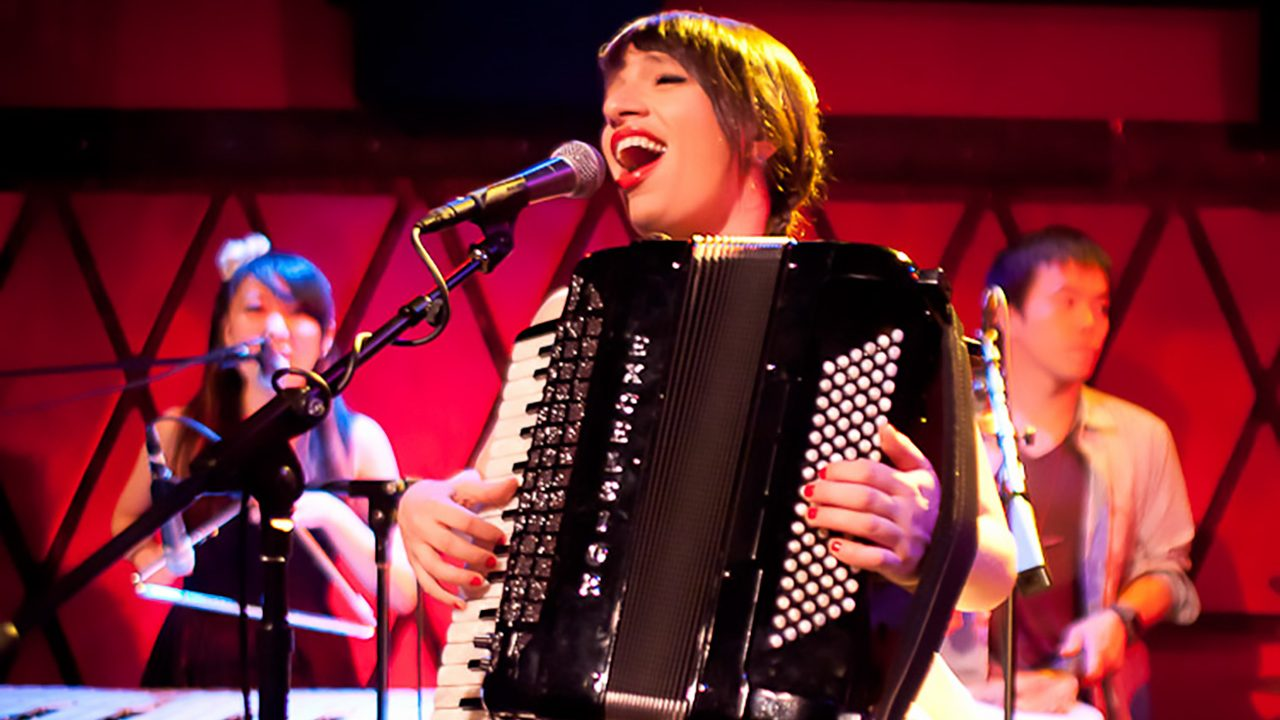 Banda Magda at Rockwood Music Hall.  September 16, 2011