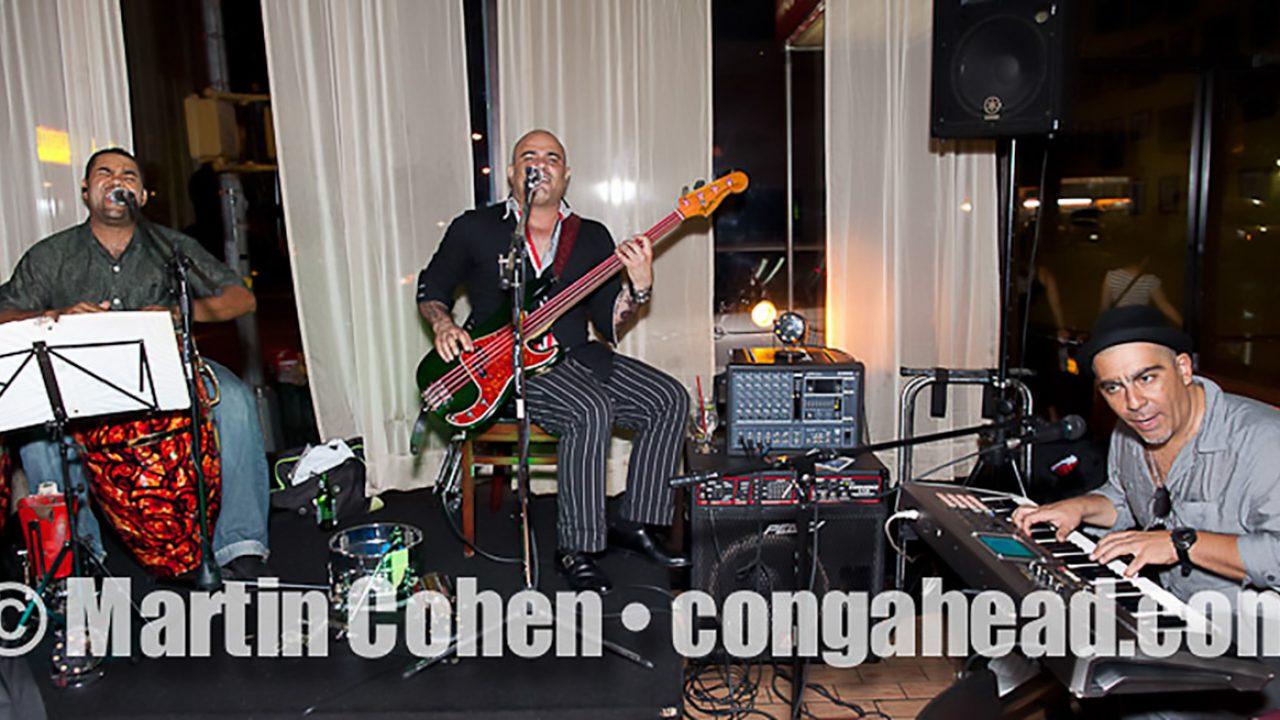 Danny Rojo Trio at Amour Cubano NYC.  July 29, 2011