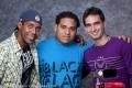 Duni Barretto Pozo, DJ Javick and Miguel Escurola Espineta