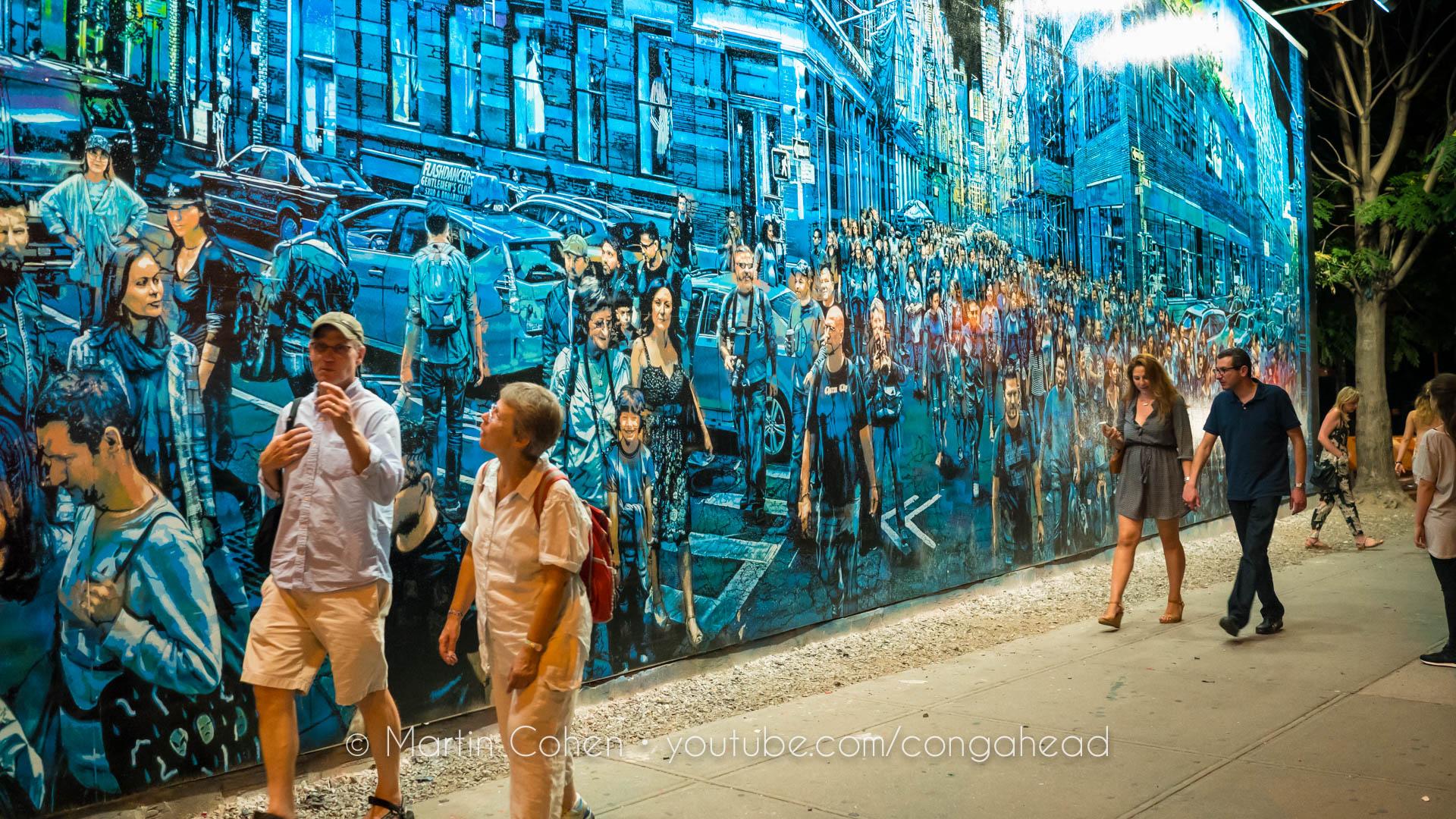 Logan Hicks S Spectacular Bowery Mural Congahead