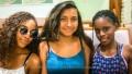 Thalia, Anjeli and Denielle in Chinatown