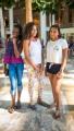 Denielle, Thalia and Anjeli