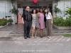 Matin, Samara, Vivianne and Yim. Outside Bangkok, Thailand.