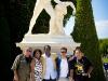 Martin, Vivianne, Fio, Matthew and Javier. Versailles, France