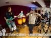 Gerardo Contino and the band with John Benitez on bass, Paulo Stagnaro, conga, Yeissonn Villamar, keyboard, Luis Feife, sax, Dennis Hernandez, trumpet and Eudy Fernandez, shekere