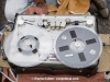 Nagra recorder being used for playback. Bollywood film being shot in Macau