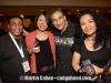 Steve Thornton, Tony Monaco and girlfriend, Asiko and Fraridah Sunusi