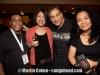 Steve Thornton, Tony Monaco and girlfriend and Fraridah Sunusi