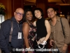 Martin and Vivianne Cohen, Indra Lesmana and his wife