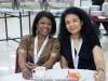 Vivianne Cohen and Faridah Sanusi