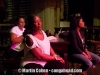Andrea. Cheryl and Vivianne at Chanté Moore rehearsal