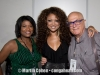 Vivianne and Martin Cohen with Chanté Moore in middle
